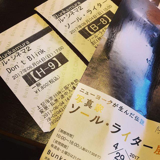 休日、こんなの観てました。#ロバートフランク (don't blink)と#ソールライター のドキュメンタリーはそろそろ終わってしまうけれど、時間があるならオススメです。もちろん、ソール・ライターの#写真 展も。#美術展 ×1、#映画 ×2を一度に観るスケジュールなんて人生初w#bartool #bar #authenticbar #gyoutoku #gyotoku #cinema #movie #saulleiter #robertfrank #行徳 #バーツール