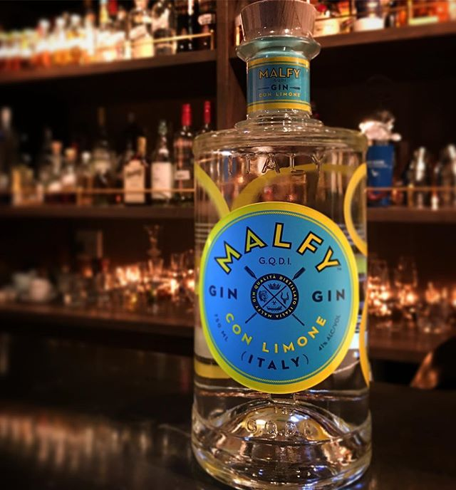【new arrival gin】malfy gin  41%from Italy #bar #authenticbar #bartool #malfygin #malfy #craftgin #gin #クラフトジン #ジン #マルフィ #マルフィジン #バーツール #行徳 #行徳bar