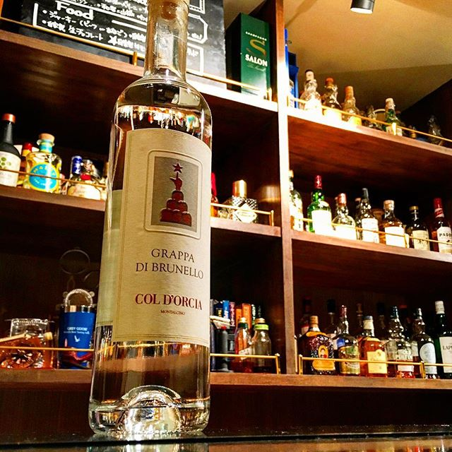 【new arrival grappa】Col d'orcia / di brunello #bar #authenticbar #bartool #gyoutoku #gyotoku #grappa #coldorcia #berta #brunello #sangiovesegrosso #brandy #montalcino #グラッパ #ブランデー #コルドルチャ #ベルタ #サンジョヴェーゼグロッソ #ブルネッロ #モンタルチーノ #バーツール #行徳 #行徳bar #浦安 #船橋