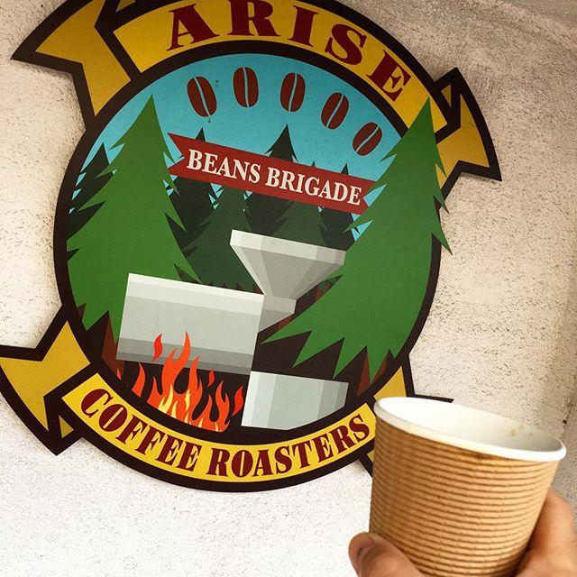 今年もお世話になります。#bar #authenticbar #bartool #coffee #espresso #arisecoffee #arisecoffeeroasters #バーツール #行徳 #行徳BAR #コーヒー #エスプレッソ #アライズコーヒー