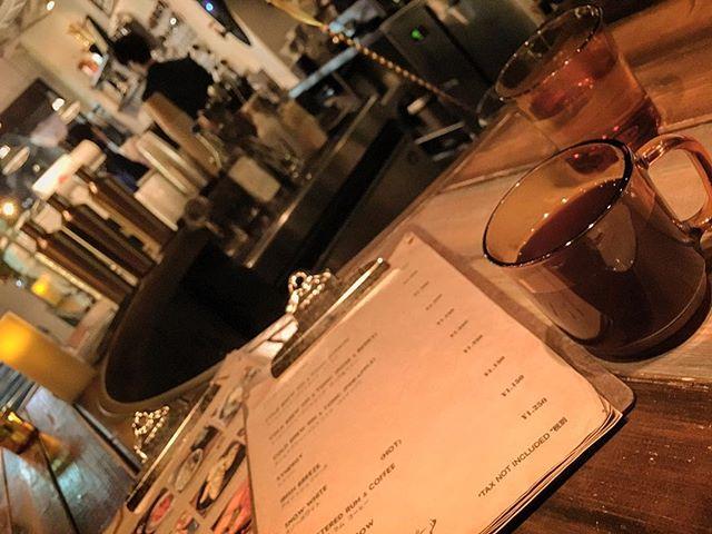 やっと来れた。コーヒー美味しかった!#bar #authenticbar #bartool #cocktail #coffee #unlimitedcoffee #バーツール #行徳 #行徳BAR #船橋 #浦安  #業平橋 #業平 #コーヒー #アンリミテッドコーヒーバー