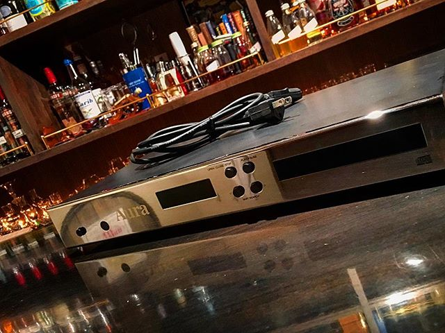#CDプレーヤー is back !#bartool #bar #authenticbar  #cdplayer #auraaudio #バーツール #行徳 #行徳BAR #浦安 #船橋