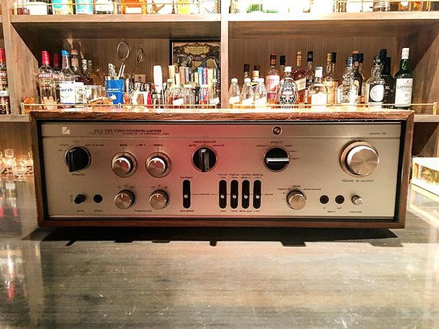 【new arrival amplifier】Luxman L308#bartool #bar #authenticbar  #amplifiers #luxman #ラックスマン #バーツール #行徳 #行徳BAR #浦安 #船橋