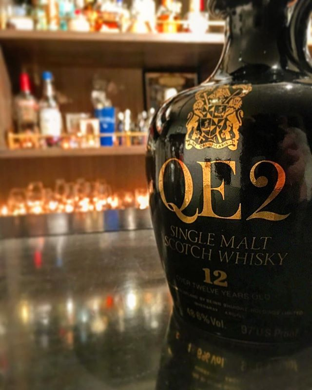【new arrival single malt】QE2 12y 48.6% (maybe Tamnavulin distillery,80's)#bar #authenticbar #bartool #qe2 #queenelizabeth #queenelizabeth2 #tamnavulin  #scotch #singlemalt #singlemaltwhisky #whisky  #クイーンエリザベス #クイーンエリザベス号 #ウイスキー #シングルモルト#シングルモルトウイスキー #バーツール #行徳 #行徳bar #船橋 #浦安