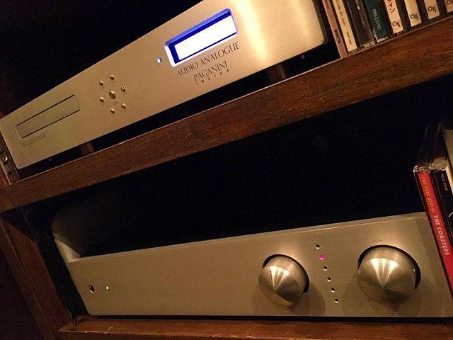 【new arrival audio】Audio Analogue Puccini (amplifier)Paganini (CD player)#bartool #bar #authenticbar  #amplifiers #amplifier #cdplayer #audioanalogue #オーディオ #バーツール #行徳 #行徳BAR #浦安 #船橋