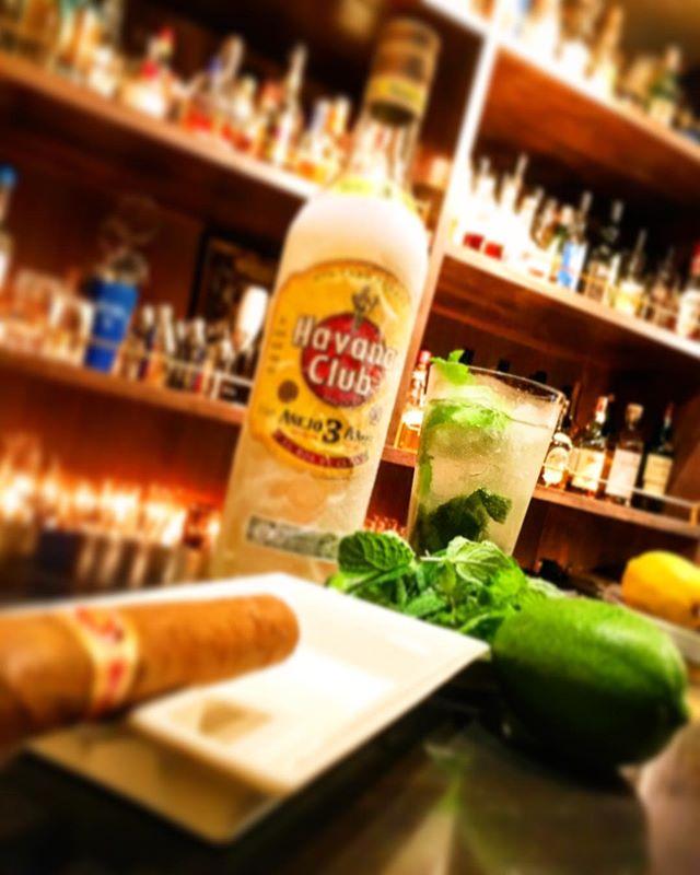 【seasonal cocktail】Mojito #bar #authenticbar #cocktail #mojito #rum #havanaclub #cigar #バーツール #行徳 #行徳BAR #カクテル #モヒート #ラム #ハバナクラブ #船橋 #浦安