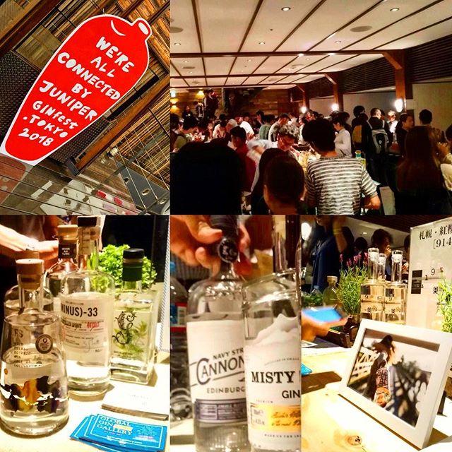 """【レポ】ジンフェスト東京へ行ってきた。近年、トレンドから着実にベーシックへの道を歩みつつあるcraftgin。国内外、実に様々なボタニカルを使い個性豊かなものを作っているのを体験してきました。しかし、個性的ではあるものの、そもそもの根本として「ginとはなんぞや?」というのを感じたのもまた事実。EUで定義された条件をクリアすればそれであるというのは(法規制上では)そうなんですが、いまいちそれのみで首肯できないモヤ感みたいのを感じました。ジュニパーを使えばあとは何使ってもいい、みたいな、悪く言うと雑駁、よく言えば自由な感じというか。もはや""""gin""""とせずに""""ボタニカルスピリッツ""""とした方が変にカテゴライズされなくていいのではないか?というのが一番強く受けた感覚。もちろんカテゴライズした方がとっつきやすいくイメージしやすいのは事実です。そういう面で""""gin""""と銘打っている部分もあるんじゃないかと。事物は進化・発展することを良しとしますし、また、そうあるべきだとも思いますが、アイデンティティを内包しつつそうある事が理想だと考えている身としては複雑なものがありました。率直に言って、いまいち「ginとはなんぞや?」(=ginのアイデンティティ)へのアンサーが得られなかった。しかし、ポジティブにみればこういう時期が最もドラスティックに変化が起こる時期だとも思うのでエキサイティングなタームとも言えます。そういう意味ではこの瞬間を体験できるのは貴重だとも思いますね。今は大げさに言うと、ginのアイデンティティが問われているのじゃないかと思ったりもします。では「アナタの""""ginの定義""""とは?」と問われると…簡潔な言葉にするに至っていないのです。長くとりとめないものでも良ければ、カウンターにてお話しさせていただきます(笑)。 #bartool #bar #authenticbar #gin #craftgin #ginfest #ginfesttokyo #ginfestival2018 #天王洲アイル #天王洲ハーバーマーケット #クラフトジン #ジン #ジンフェス #ジンフェスト #バーツール #行徳 #行徳BAR #浦安 #船橋"""