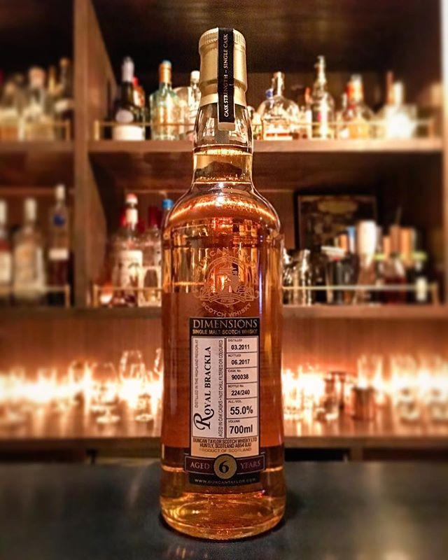 【new arrival single malt】Royal Brackla 6y(03.2011-06.2017) / 55% / Duncan Taylor#bar #authenticbar #bartool #royalbrackla  #highland #highlandmalt #scotch #singlemalt #singlemaltwhisky #whisky #duncantaylor #ロイヤルブラックラ #スコッチ #スコッチウイスキー #ウイスキー #シングルモルト #シングルモルトウイスキー #ダンカンテイラー #ハイランドモルト #ハイランド #行徳 #行徳bar #船橋 #浦安