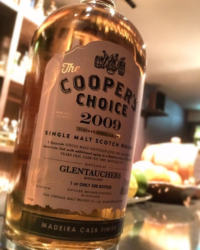 【new arrival single malt】the cooper's choice glen tauchers 8y (2009-2017) madeira cask finish / 46%#bar #authenticbar #bartool #glentauchers  #cooperschoice #thecooperschoice #speyside #speysidemalt #scotch #singlemalt #singlemaltwhisky #whisky #グレントファース #クーパーズチョイス #スコッチ #スコッチウイスキー #ウイスキー #シングルモルト #シングルモルトウイスキー #スペイサイドモルト #スペイサイド #行徳 #行徳bar #船橋 #浦安