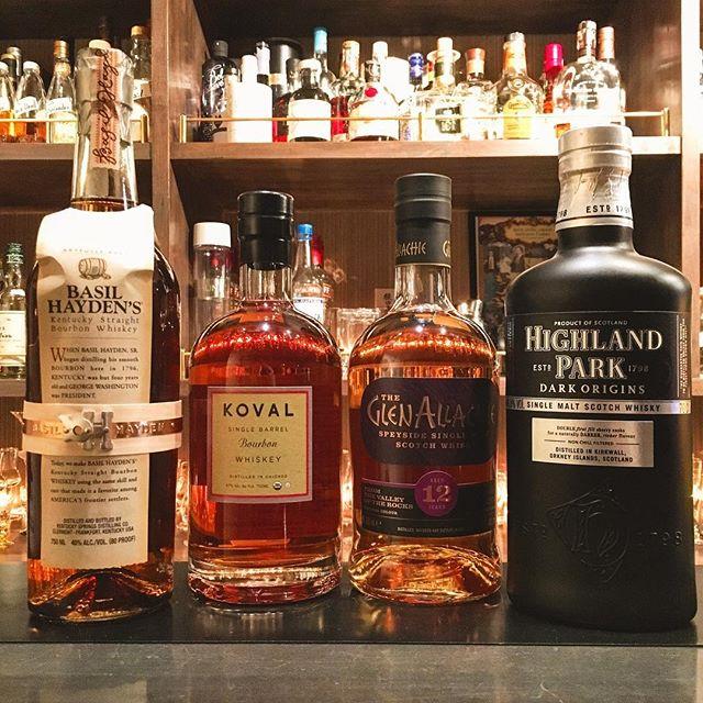 【new arrival bottles 1】L to RBasil Hayden's Koval single barrel bourbon Glen Allachie 12yHighland Park dark origins#bar #bailhayden #basilhaydens #koval #bourbon #bourbonwhiskey #glenallachie #highlandpark #scotch #singlemalt #singlemaltwhisky #whisky #グレンアラヒー #ハイランドパーク #スコッチ #ウイスキー #シングルモルト #行徳 #行徳bar #船橋 #浦安