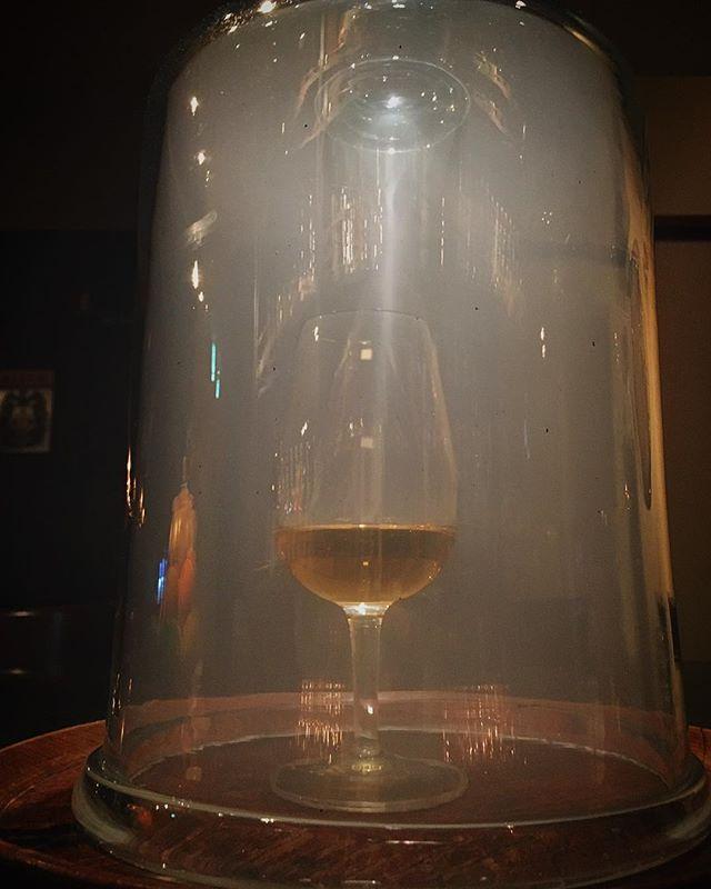 Test.Smoked whisky.#bar #authenticbar #smokinggun #polyscience #mixology #スモーキングガン #バーツール #行徳 #行徳BAR #ミクソロジー #船橋 #浦安