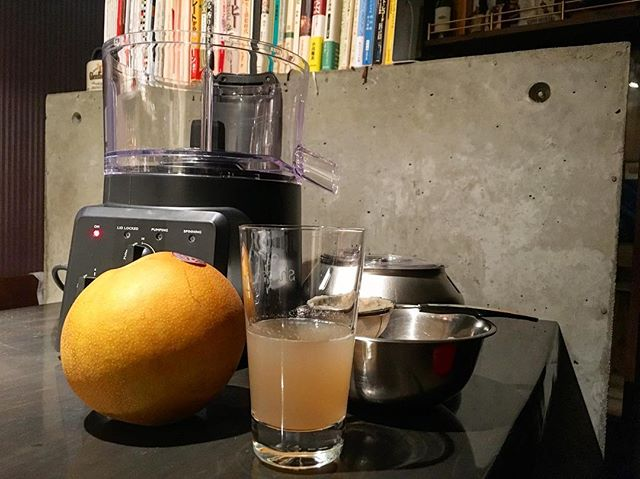 sand pear clarified.#bar #authenticbar #spinzall #bookeranddax #mixology #遠心分離機 #バーツール #行徳 #行徳BAR #ミクソロジー #船橋 #浦安