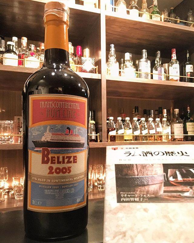 【new arrival rum】Belize 2005-2017 / trans continental rum line #bar #authenticbar #bartool #rum #belizerum #belize #transcontinentalrumline #maisonduwhisky #lamaisonduwhisky #lmdw #ラム #ラム酒 # #行徳 #行徳bar #船橋 #浦安